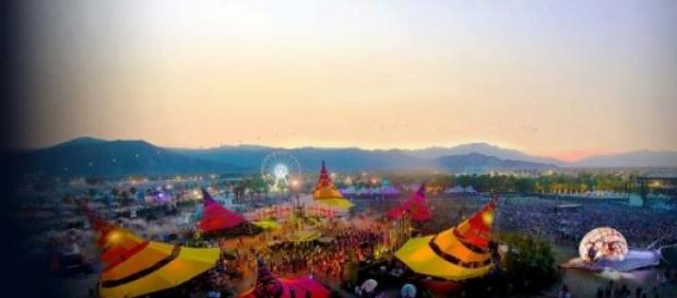 A música e a arte de um festival luxuoso