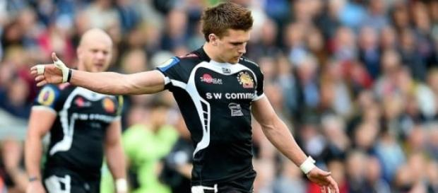 Henry Slade helped Exeter Chiefs to a victory