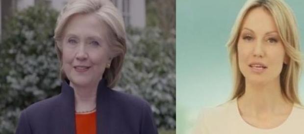 Hillary Clinton i Magdalena Ogórek