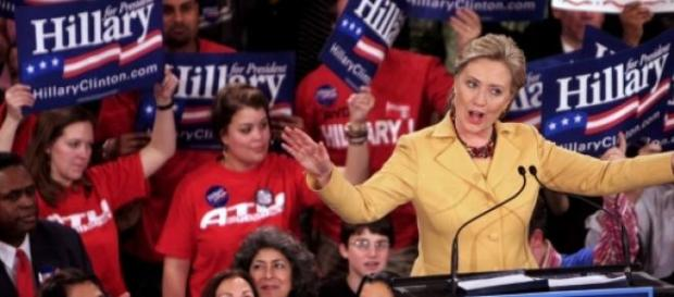 Hillary Clinton oficjalną kandydatką na prezydenta