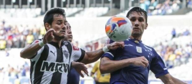 Lance de Atlético MG 1x1 Cruzeiro