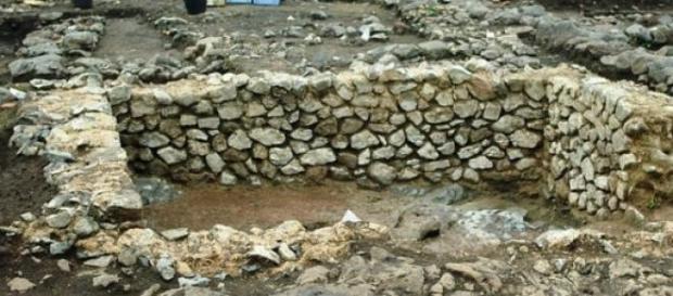 Restos arqueológicos en L'oppidum de Corent