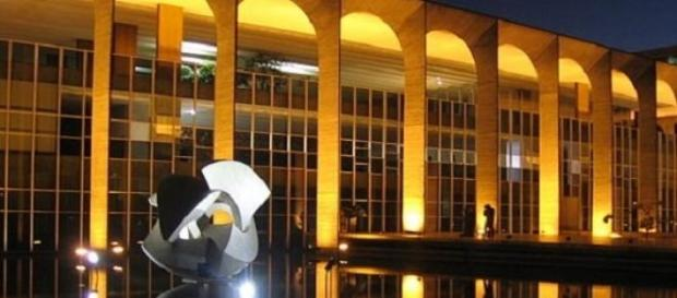 Sede do Itamaraty no Distrito Federal