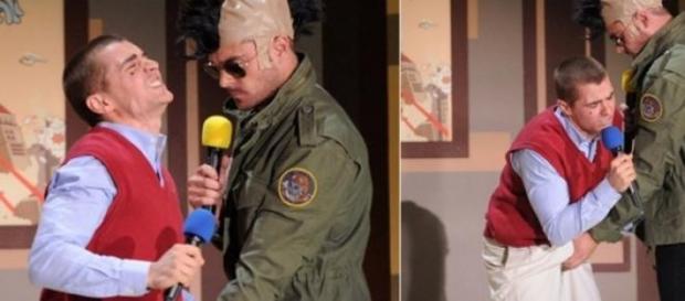 Zac Efron comemora prêmio pegando em pênis de ator