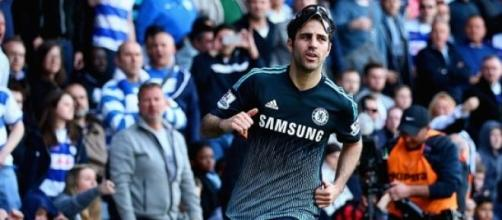 Cesc Fabregas scored a late winner for Chelsea