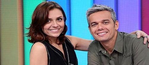 Monica Iozzi e Otaviano Costa Foto: Divulgação