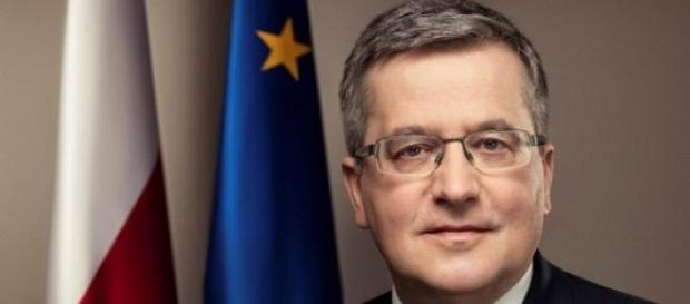 Bronisław Komorowski 2015, mat. prasowy