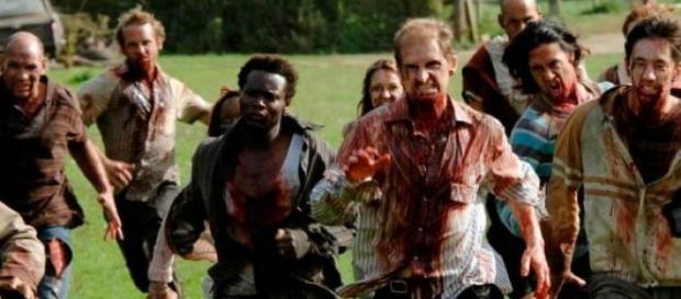 Corrida de obstáculos zombies/sobreviventes