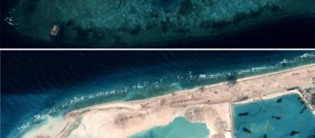 Insule secrete construite de China