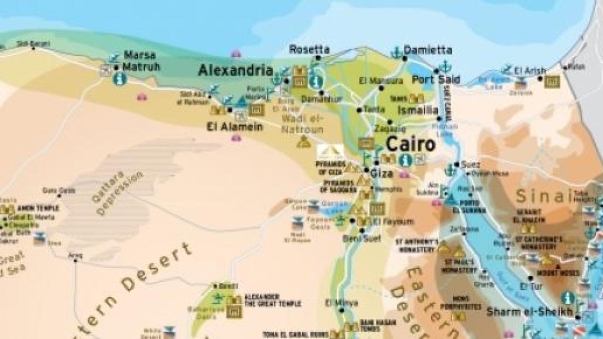 Cartina Del Egitto.Egitto Tribunale Polizia Puo Espellere Stranieri Ritenuti