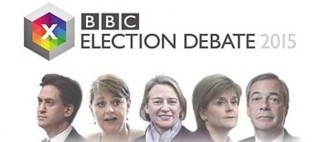 Five leaders taking part in BBC debate