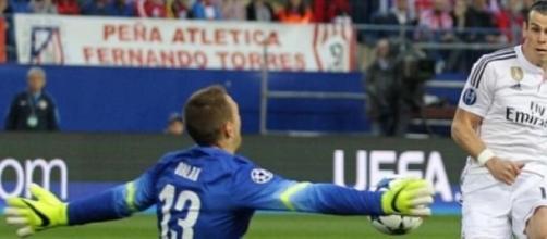 Bale não conseguiu bater Oblak