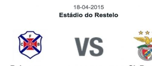 Belenenses Vs Benfica. 29ª jornada da Liga NOS.