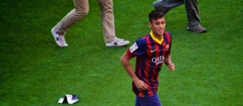 Neymar foi hoje decisivo na vitória do Barcelona