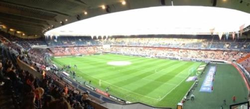 Paris-Barcelone, au Parc des Princes.