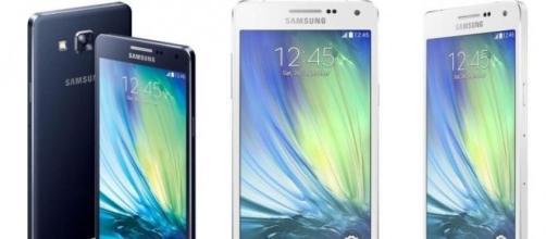 Prezzi Samsung Galaxy A3, Samsung A5, Samsung A7