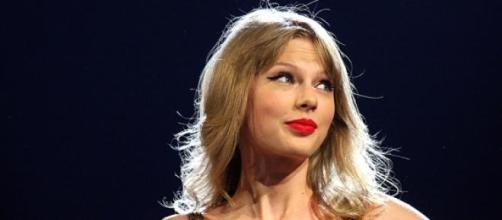 Taylor Swift en uno de sus conciertos