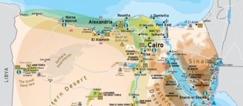 Egitto La Cartina.Egitto Tribunale Polizia Puo Espellere Stranieri Ritenuti