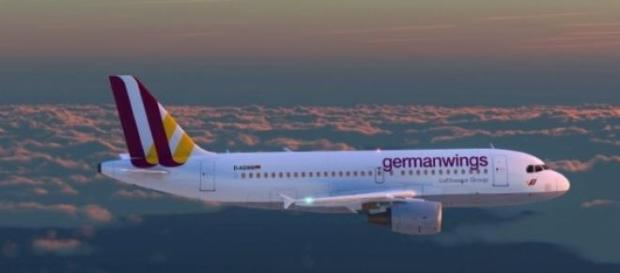Avion de la compañia alemana Germanwings