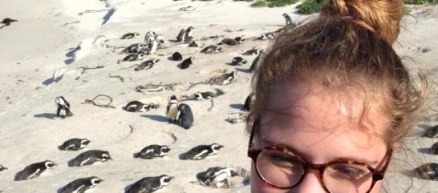 Die 20 Jahre alte Lynn bereiste Afrika.