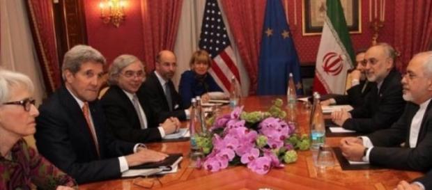 Reunion entre Irán y Estados Unidos