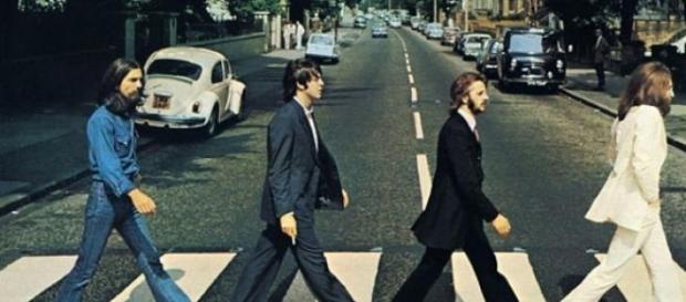 The Beatles Abbey Road cover