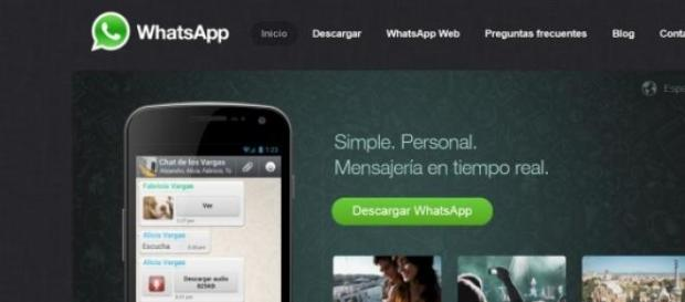 Versión web de la aplicación de WhatsApp