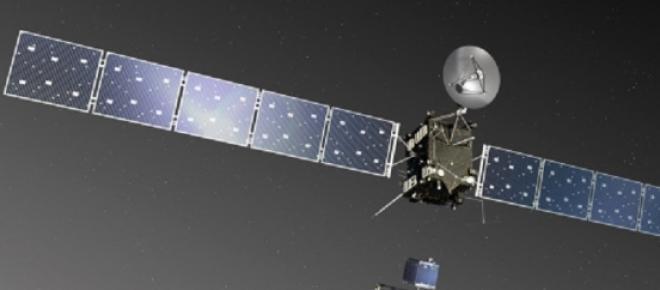 Lançamento da sonda Rosetta a 2 de março de 2004