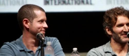 Los creadores de la serie, en Comic Con