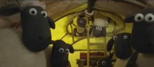 """Momento de """"La oveja Shaun: La película"""""""
