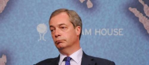 Nigel Farage, leader of the UKIP