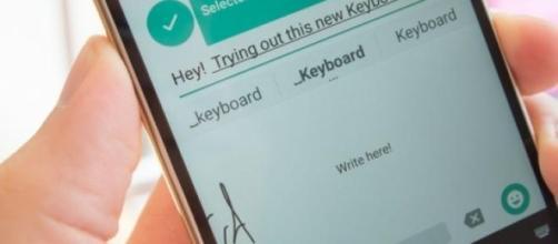Tastiera Google scrittura a mano libera