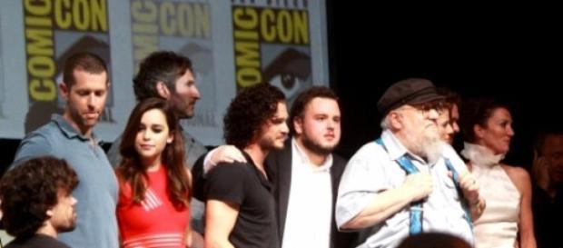 El panel de la primera temporada en Comic Con