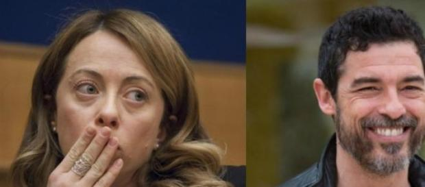 Giorgia Meloni e Alessandro Gassman