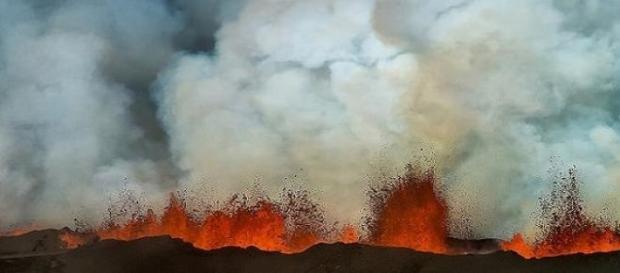 La erupción del  Bároarbunga-Holuhraun