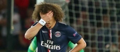 Noite para esquecer de David Luiz
