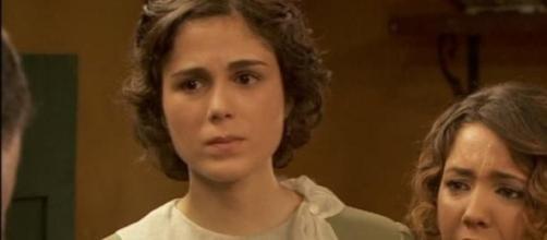 Il Segreto: Emilia e la vera madre di Alfonsino