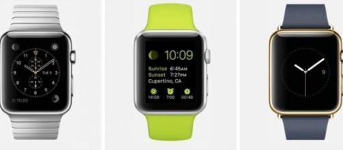 Les modèles de l'Apple Watch