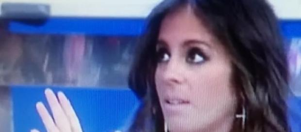 Anabel durante su entrevista en Sálvame