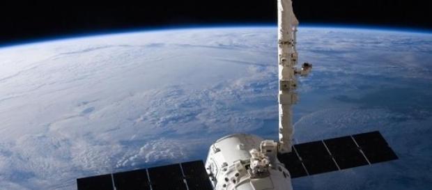 Foto de la nave espacial SpaceX