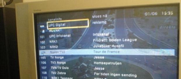 La configuración de la HDTV