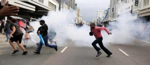 Ataques contra imigrantes na África do Sul