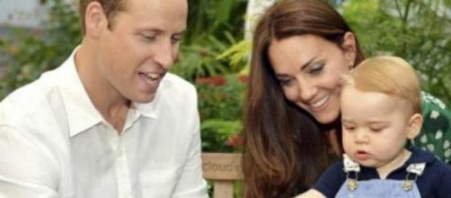 Kate e William com o primeiro filho