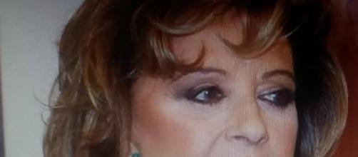 Maria Teresa campos durante un 'photo call'