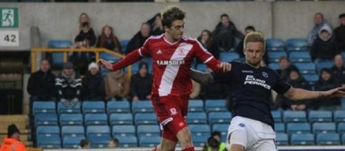 Patrick Bamford (left) was impressive for Boro