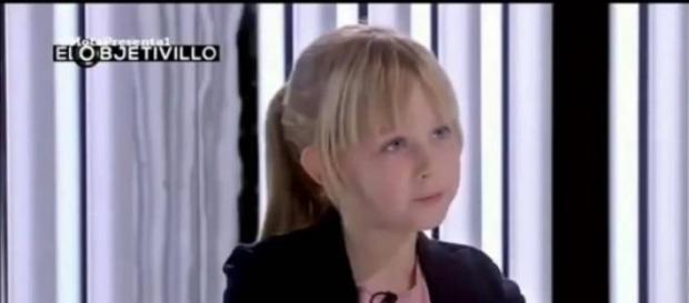 """Anastasia Azaranka en """"El objetivillo"""""""