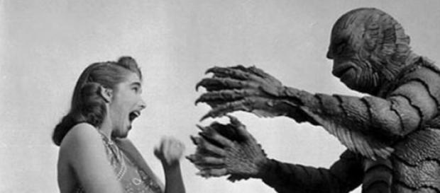 Julia Adams en el clásico film de 1954