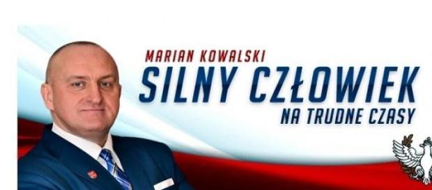 Marian Kowalski - poster wyborczy, mat. prasowy
