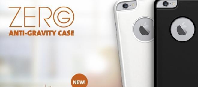 Funda Zero G en blanco y negro para iPhone 6.