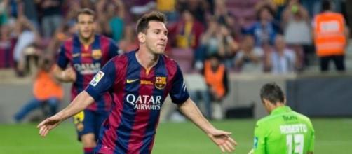 Lionel Messi es el máximo anotador del Barcelona